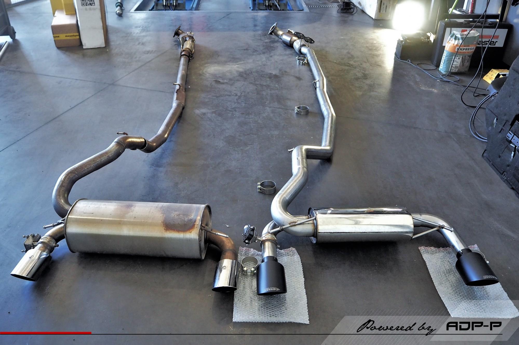 Ligne complète Milltek Salon de Provence - Ford Focus RS 2.3T Ecoboost 350cv - ADP Performance