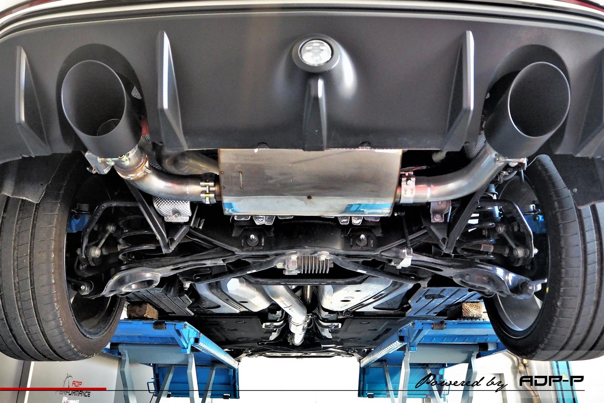 Ligne complète Milltek Nimes - Ford Focus RS 2.3T Ecoboost 350cv - ADP Performance