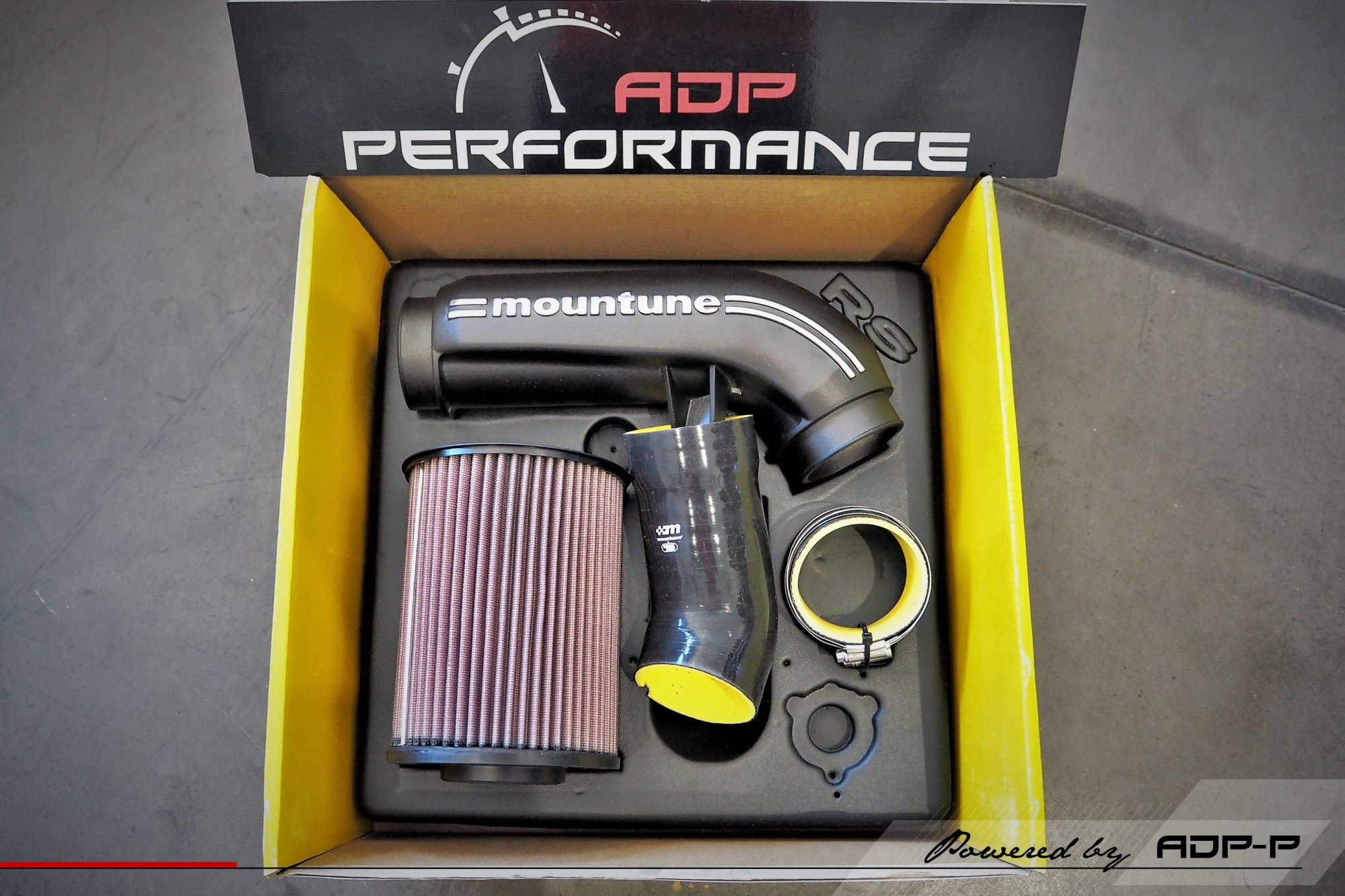 Admission Mountune - Ford Focus RS 2.3T Ecoboost 350cv - ADP Performance