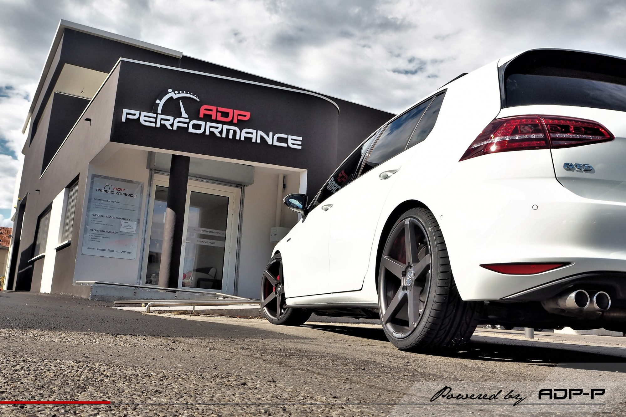 Jantes Z Performance Avignon - VW Golf 7 GTD - ADP Performance