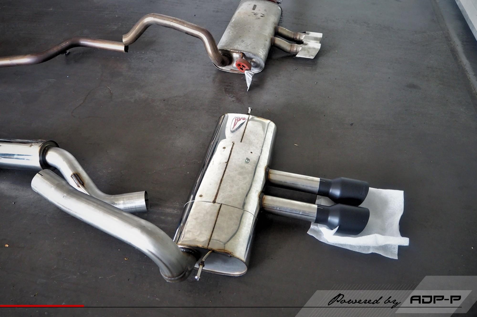 Catback Milltek Cabries - Ford Focus ST - ADP Performance