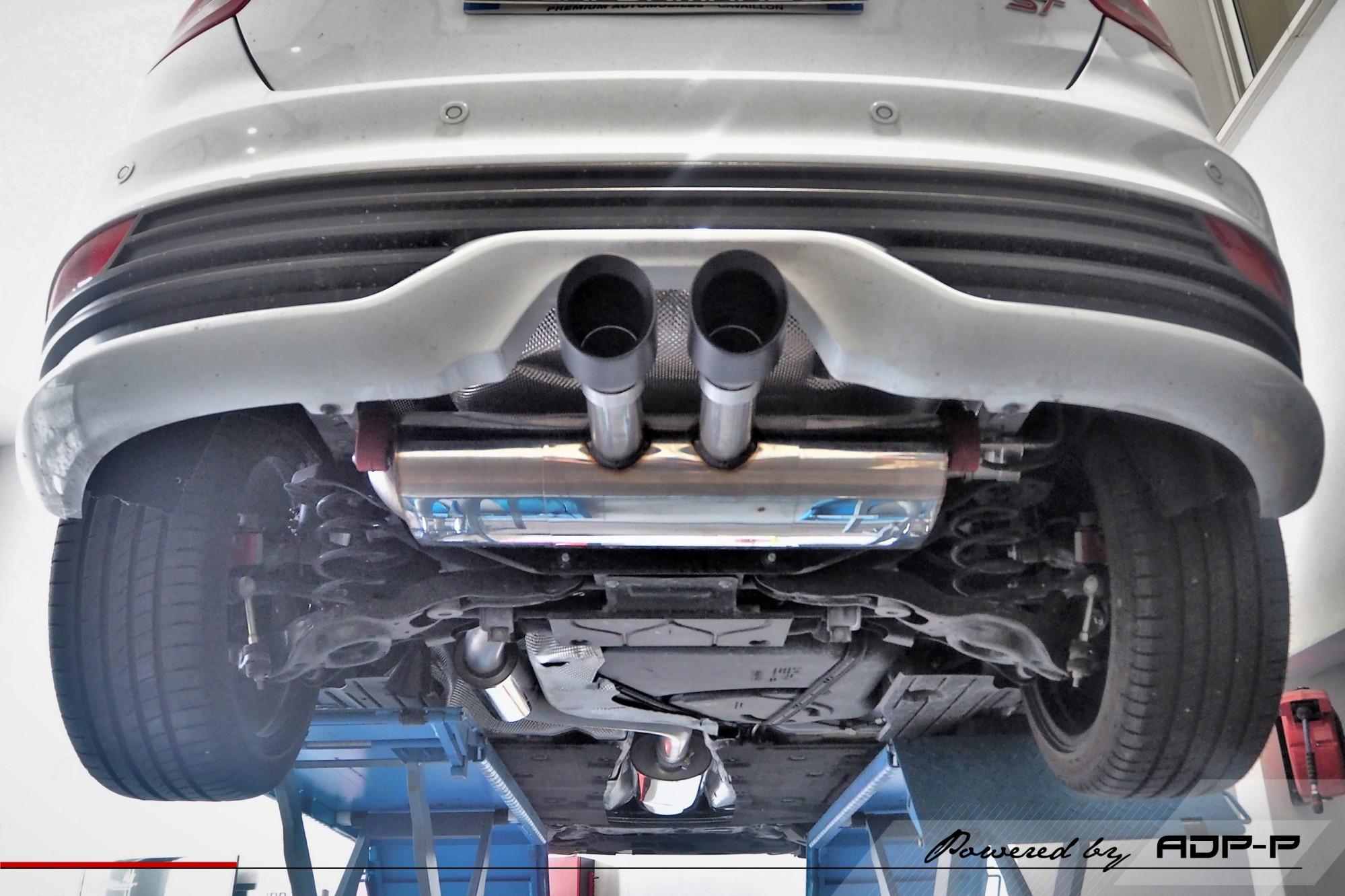 Catback Milltek Avignon - Ford Focus ST - ADP Performance