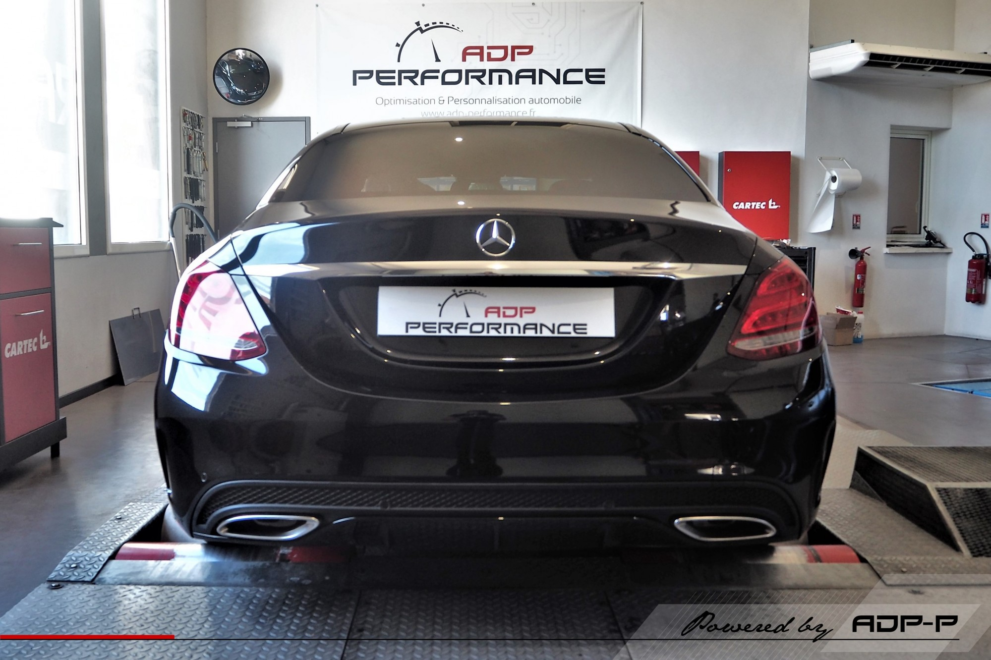 Reprogrammation moteur Nimes - Mercedes C 200 (W205) 184cv - ADP Performance
