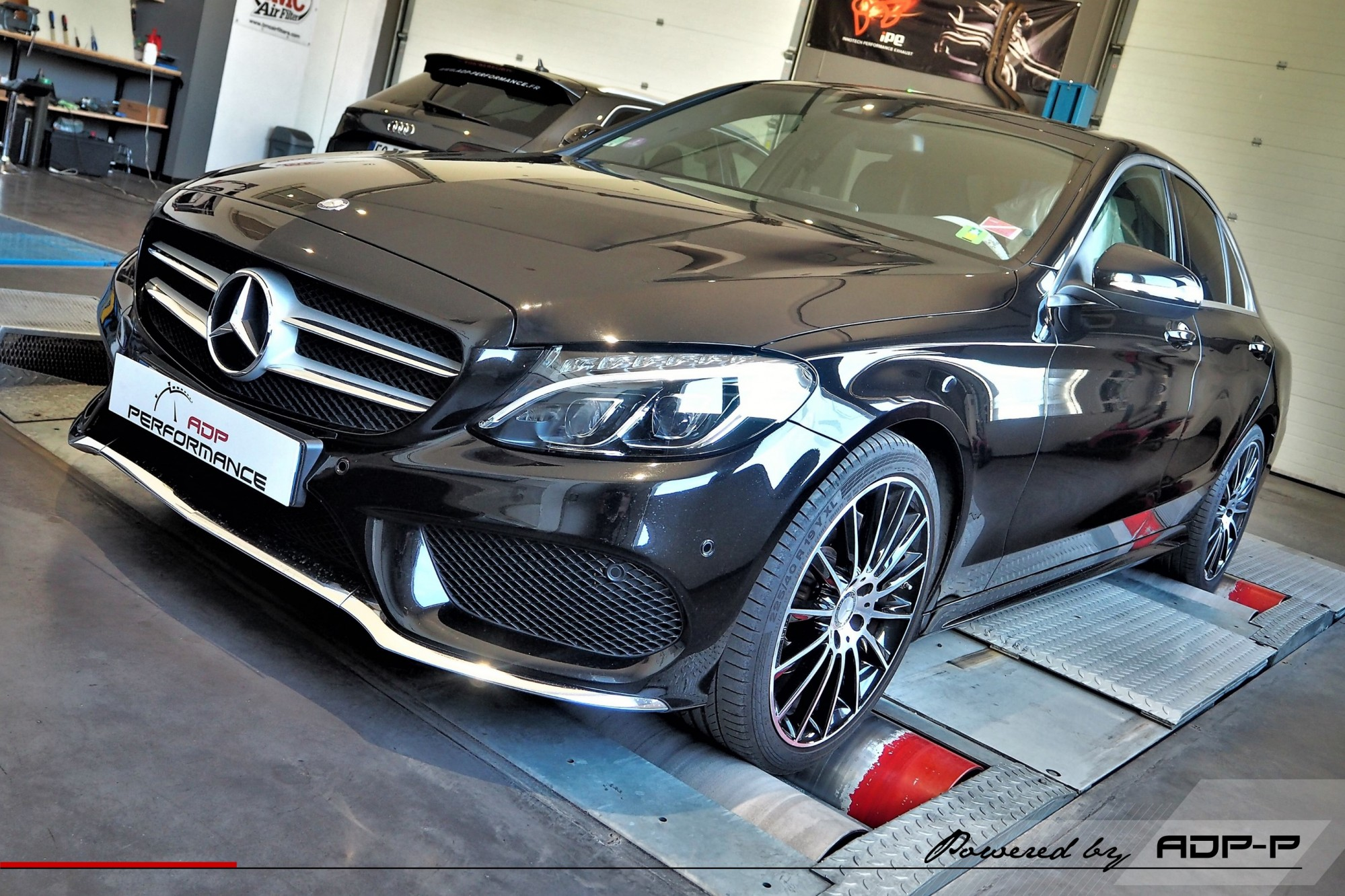 Reprogrammation moteur Salon de Provence - Mercedes C 200 (W205) 184cv - ADP Performance