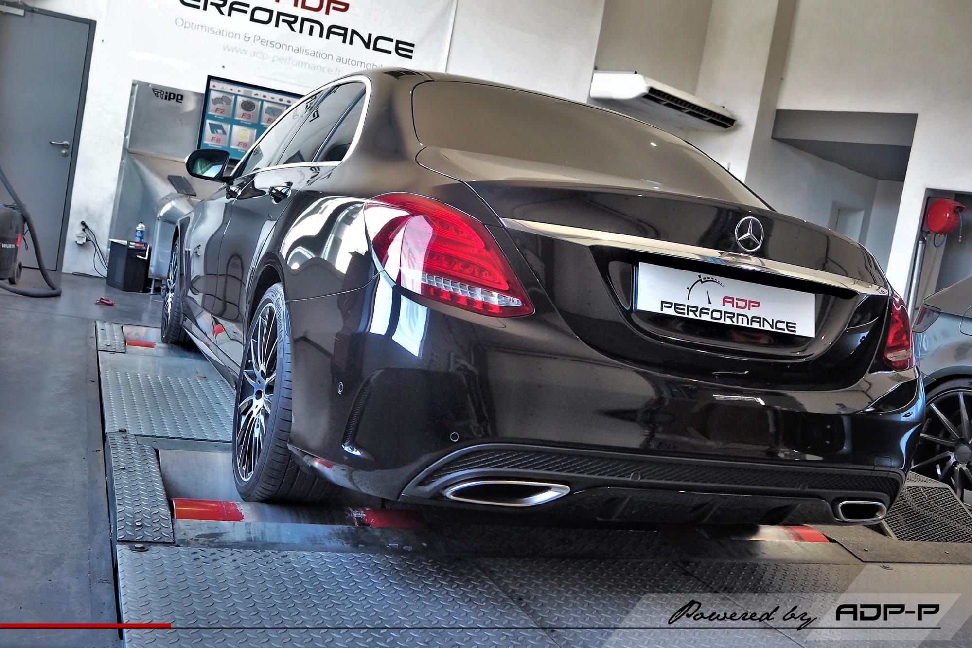 Reprogrammation moteur Arles, St Rémy de Provence - Mercedes C 200 (W205) 184cv - ADP Performance