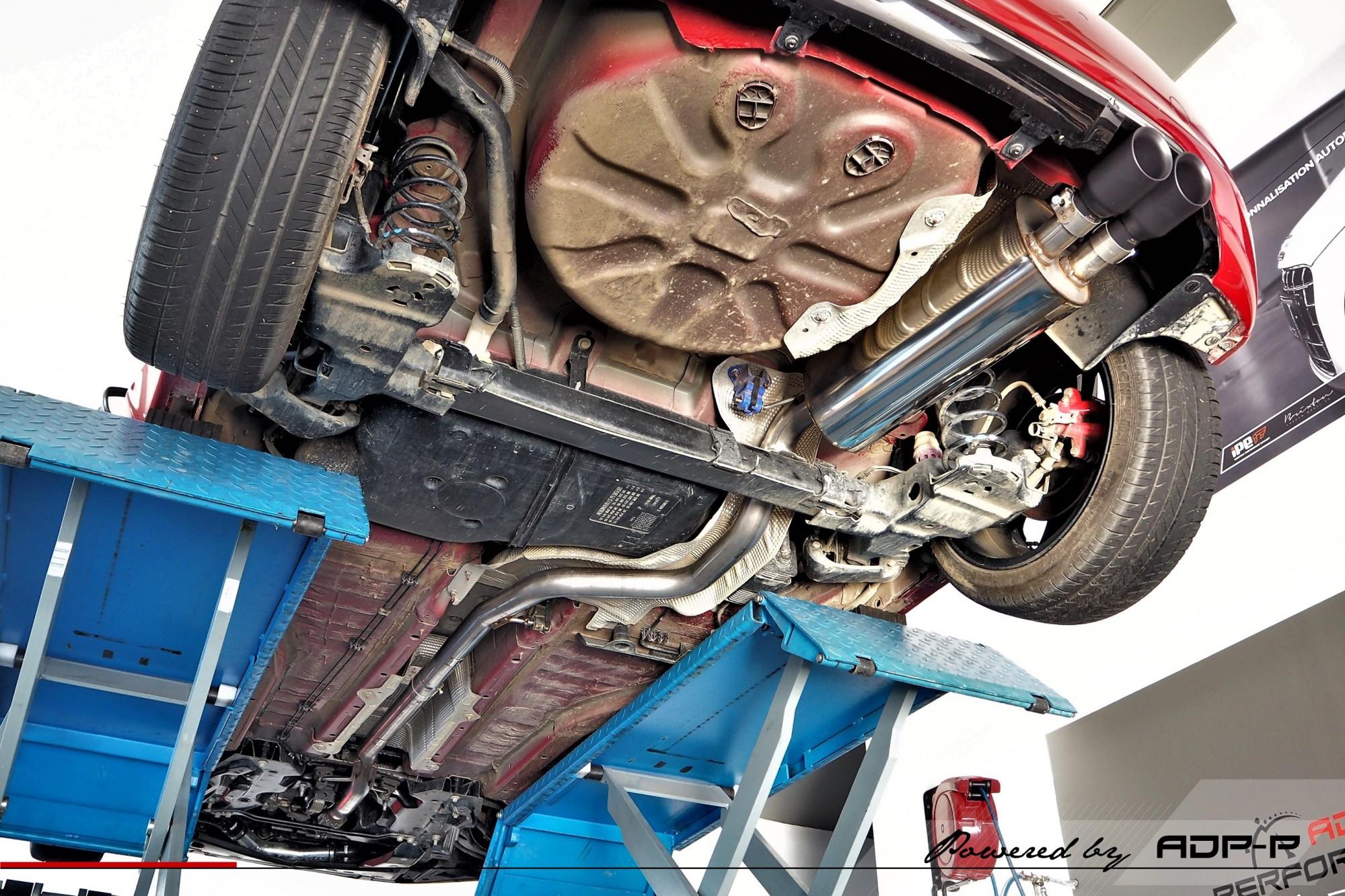 Ligne complète Milltek Avignon - Peugeot 208 GTI 1.6 THP 200cv - ADP Performance