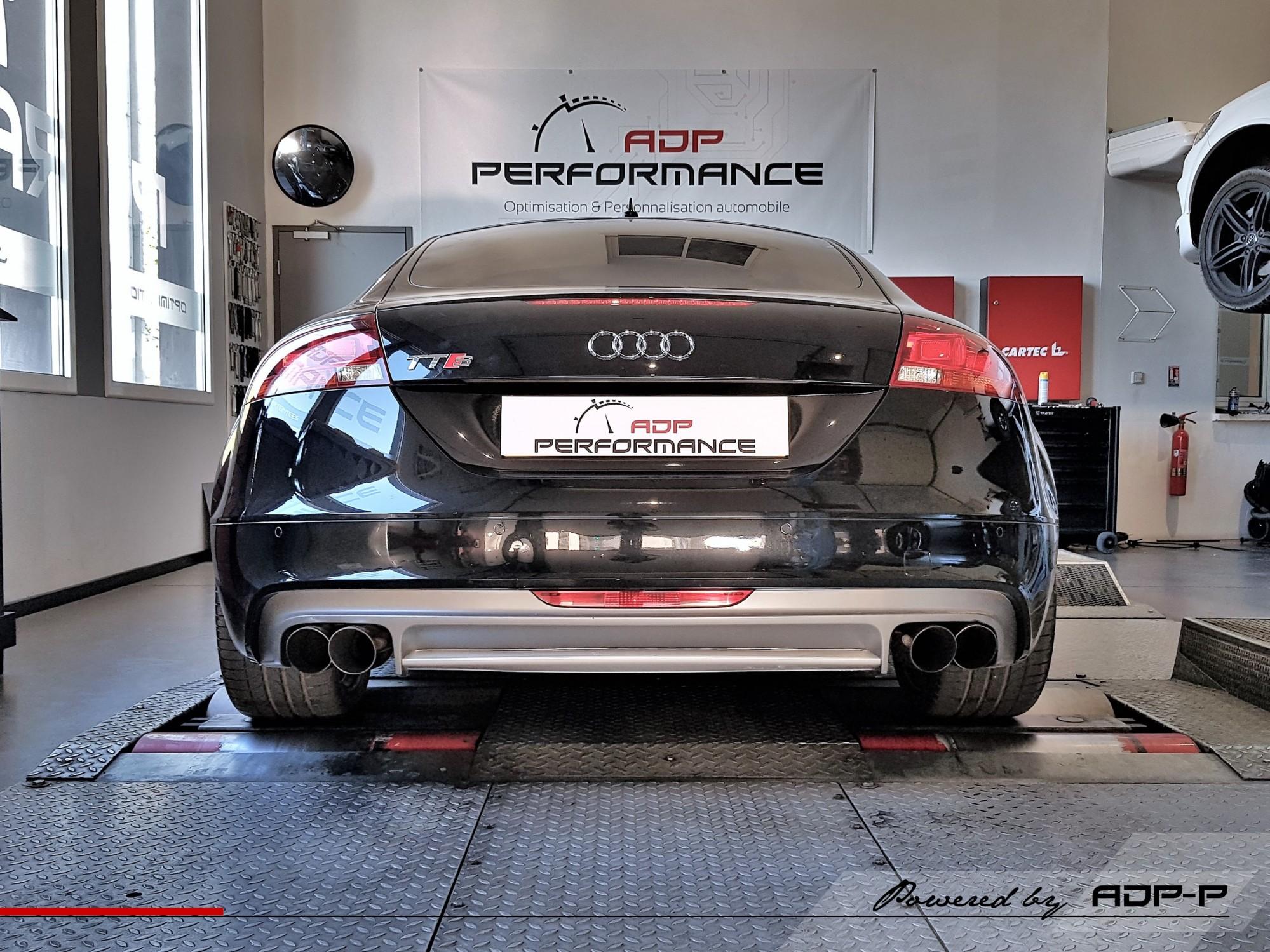 Reprogrammation moteur La Ciotat - Audi TTS (8J) 2.0 TFSI 272cv - ADP Performance