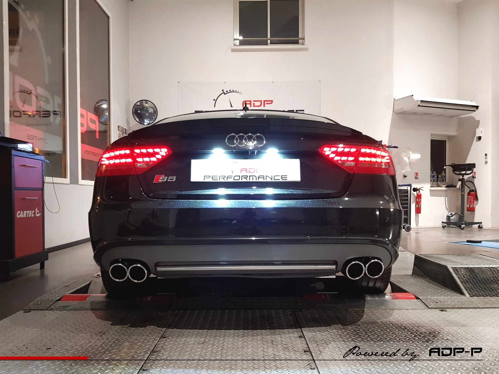 Banc de puissance Audi S5