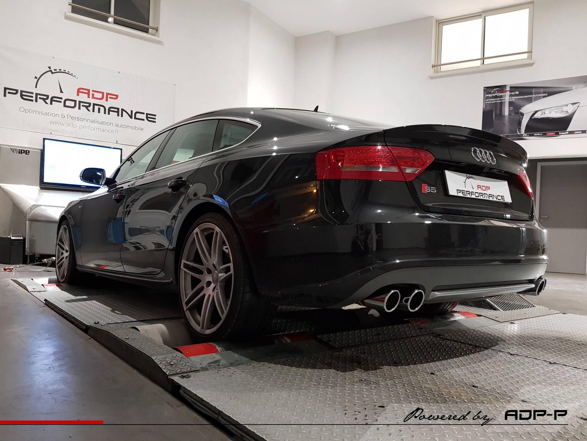 Audi S5 echappement sport