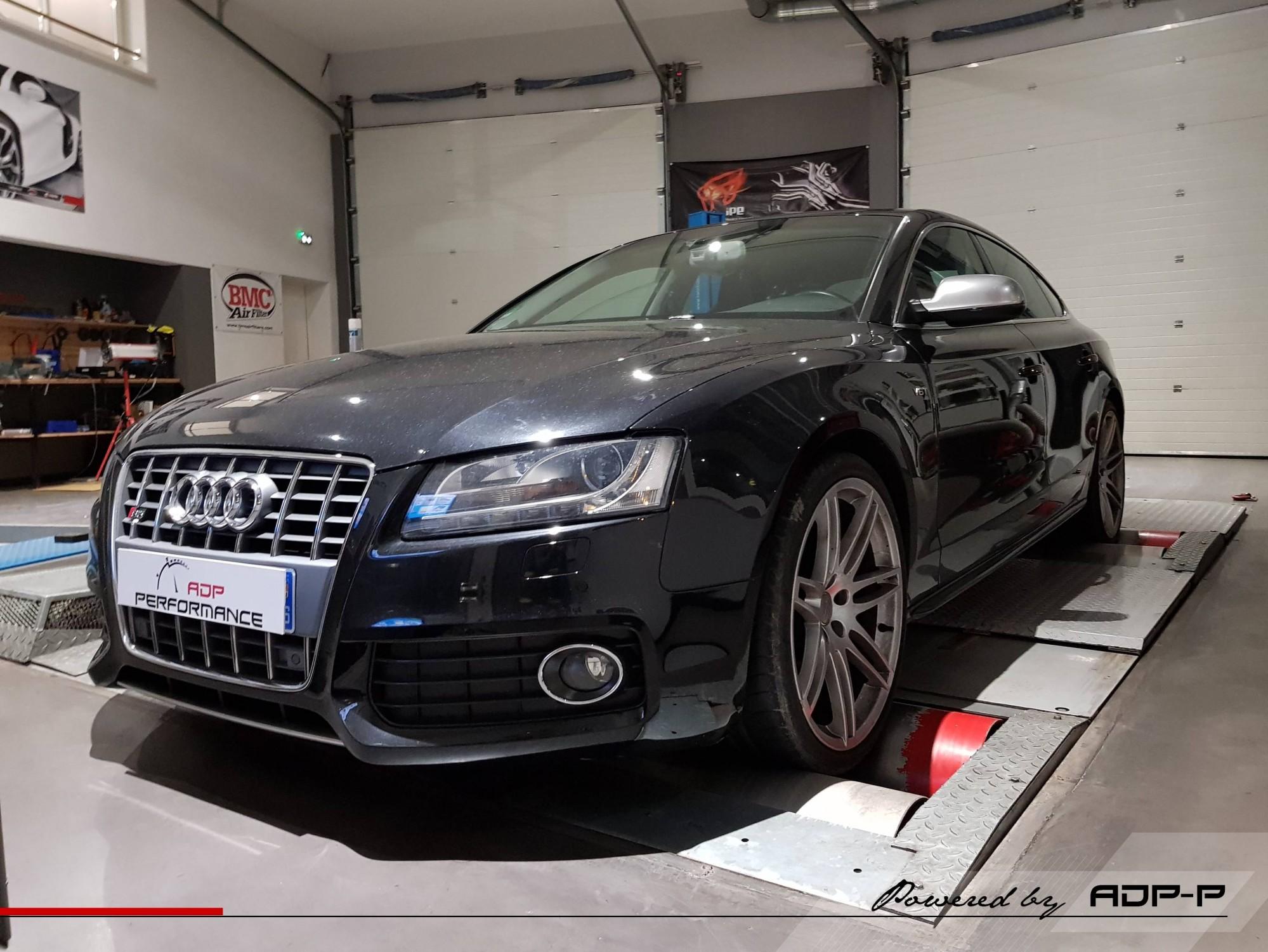 Reprogrammation moteur Audi S5