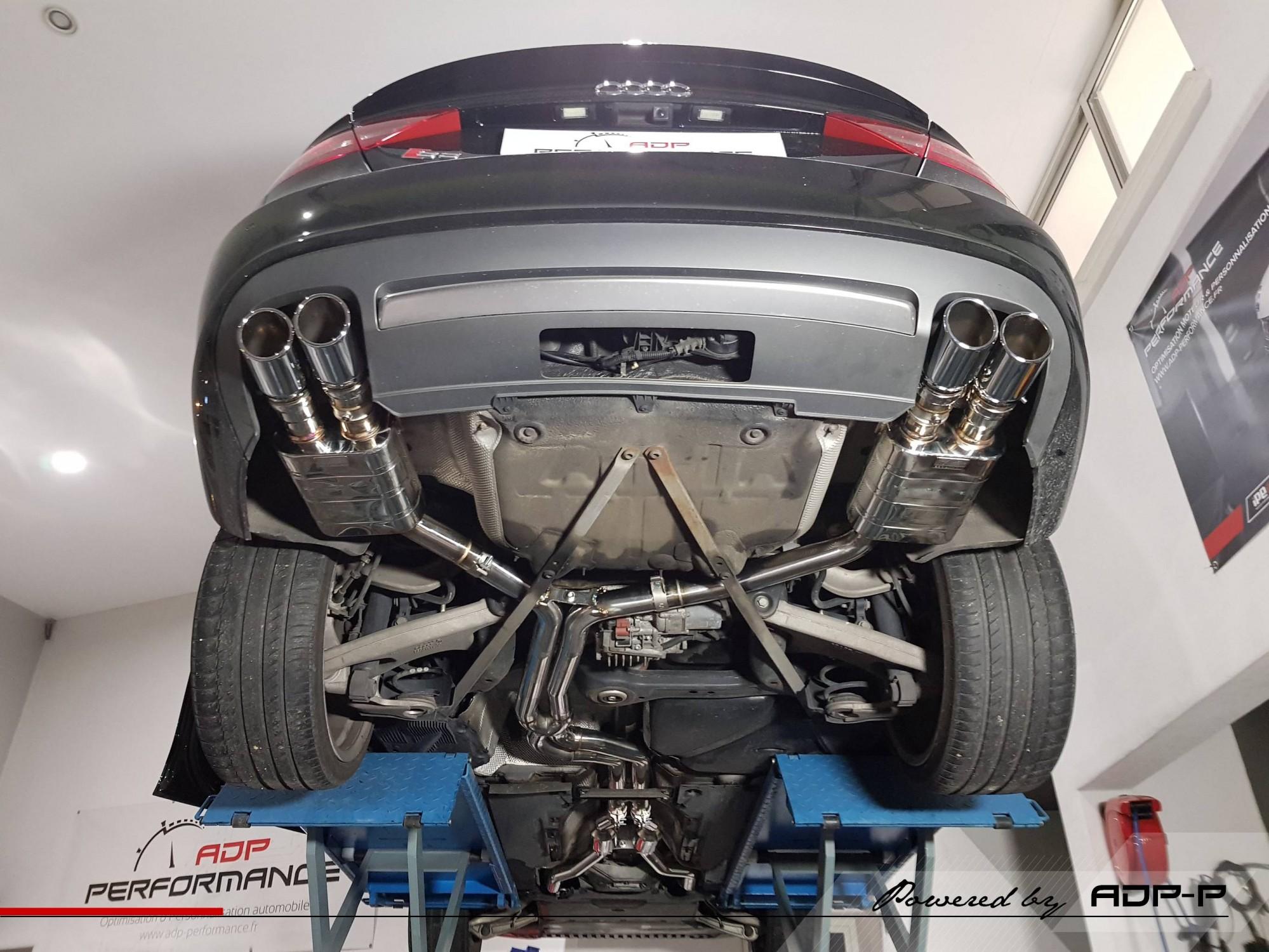 Ligne complete IPE Innotech pour Audi S5 3.0 TFSi