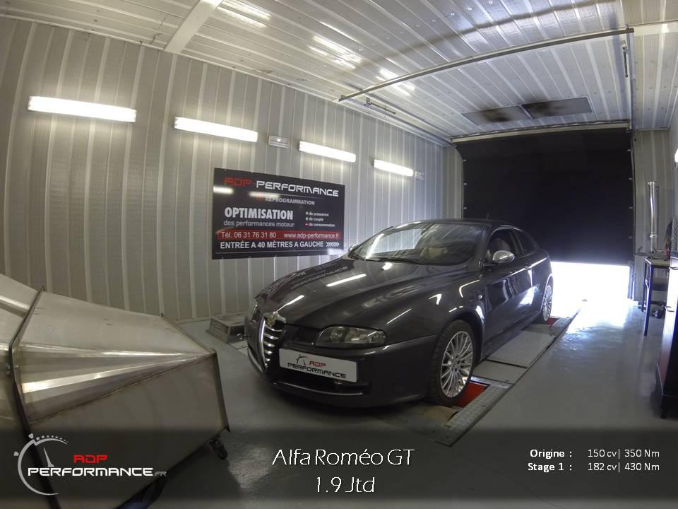 Alfa romeo gt tous diesel 1 9 jtd 150 cv for Alfa romeo salon de provence