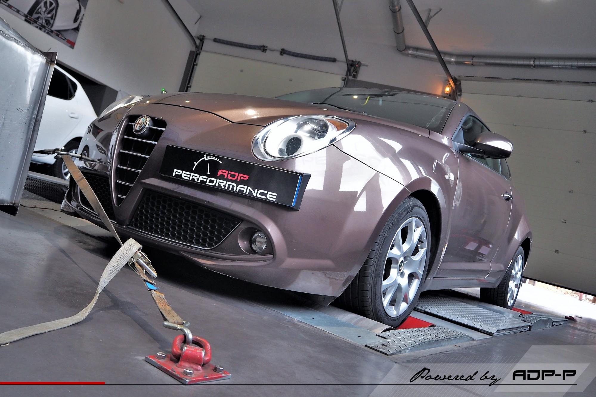 Reprogrammation moteur - Alfa Romeo Mito 1.4 T Multiair 163cv - ADP Performance