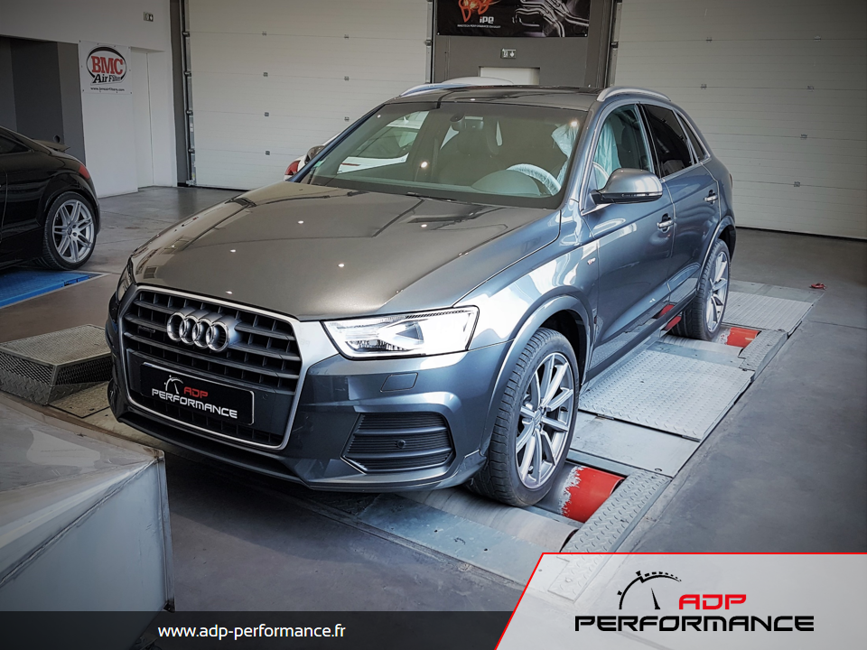 Reprogrammation moteur - Audi Q3 2.0 TDI CR 150 ADP Performance