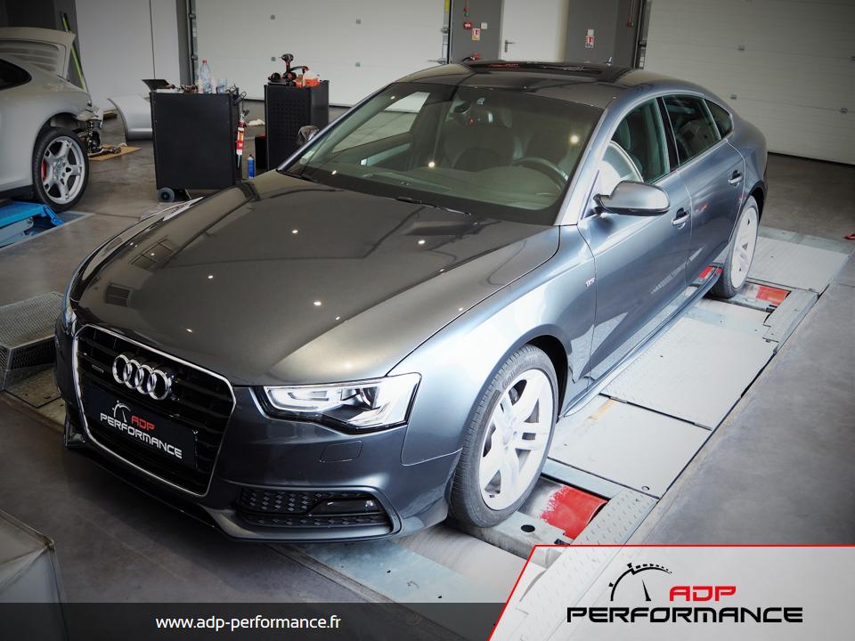 Reprogrammation moteur - Audi A5 Mk2 2.0 TDI 163 - ADP Performance