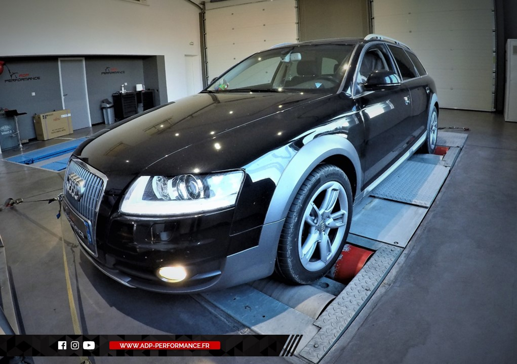 Reprogrammation moteur - Audi A6 - C6 Mk2 Essence - 2.8 FSI - 220 cv  - ADP Performance