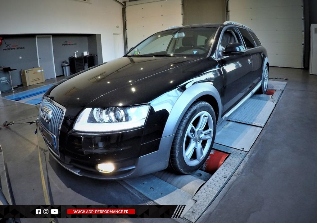 Reprogrammation moteur - Audi A6 - C6 Mk2 3.0 TFSI - 290 cv  - ADP Performance