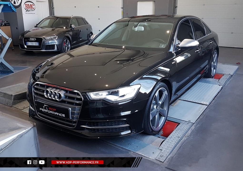Reprogrammation moteur - Audi A6 C7 2.0 TFSI 252cv- ADP Performance