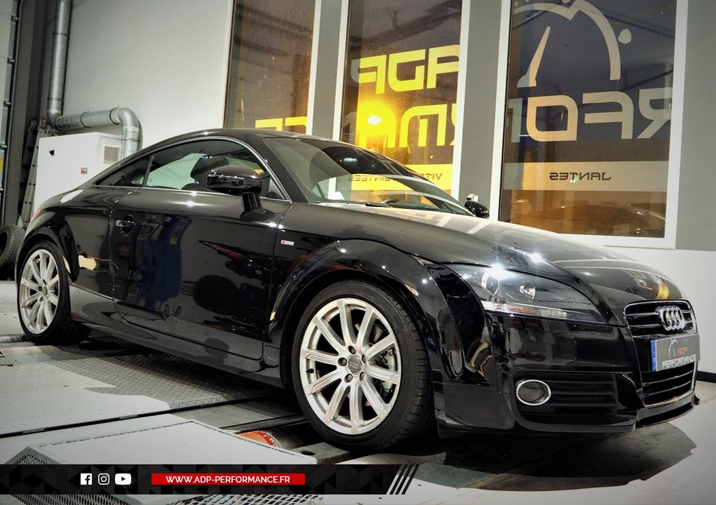 Reprogrammation moteur - Audi TT 8J 2.0 TDI CR 170cv - ADP Performance