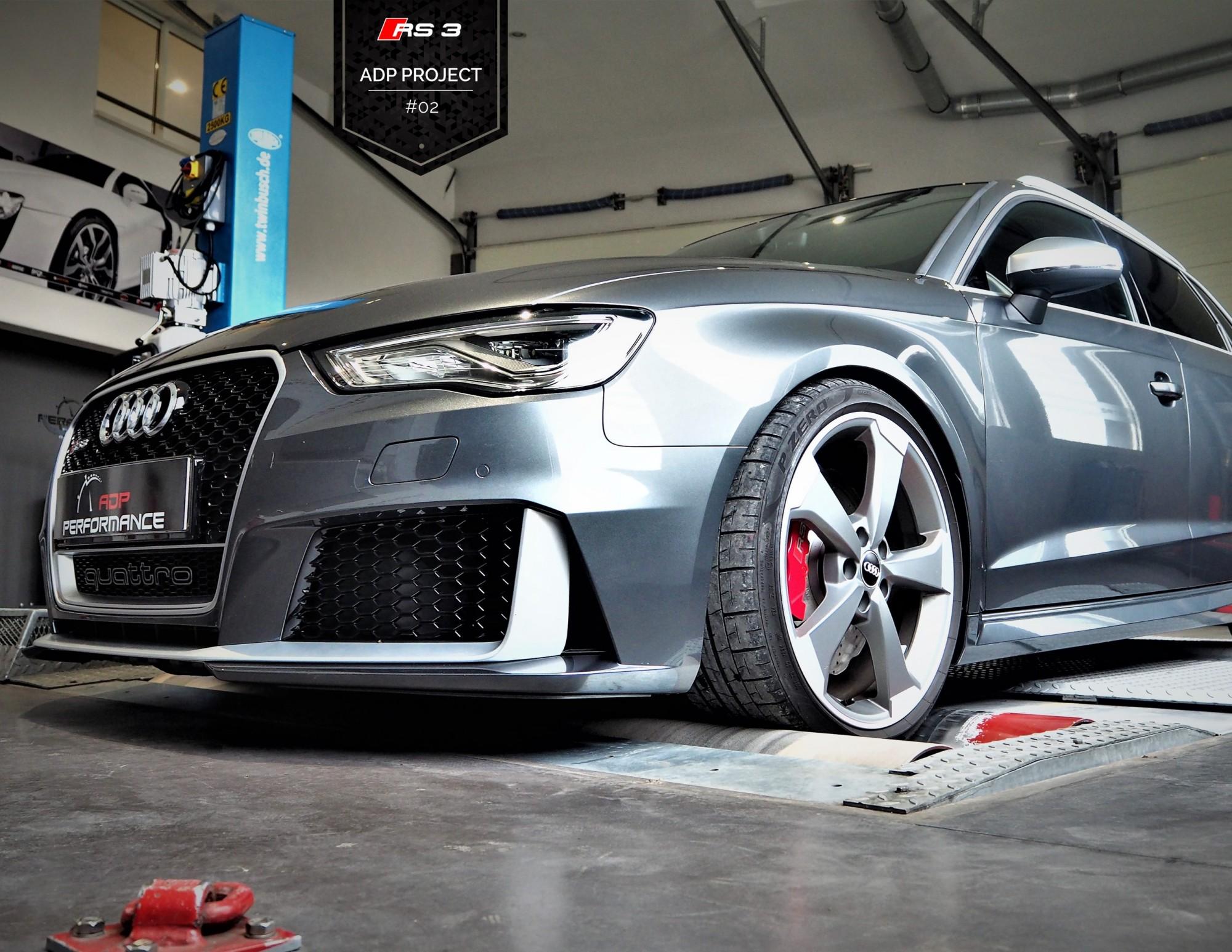 Reprogrammation moteur Marseille, Avignon, Nimes - Audi RS3 8V Mk1 2.5 TFSI 367cv - ADP Performance