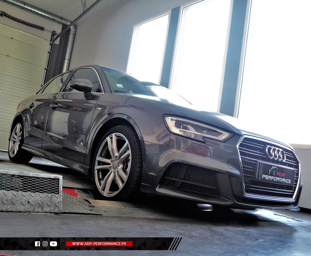 Reprogrammation moteur - Audi A3 8V Mk2 1.0 TFSI 115cv - ADP Performance