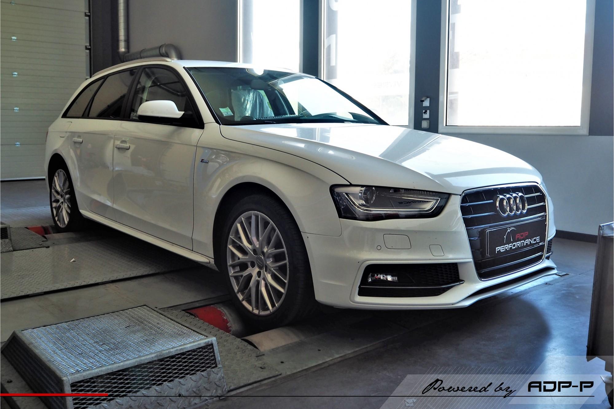 Reprogrammation moteur Montpellier, Nimes, Arles - Audi A4 B9 2.0 TDI - 150 cv - ADP Performance