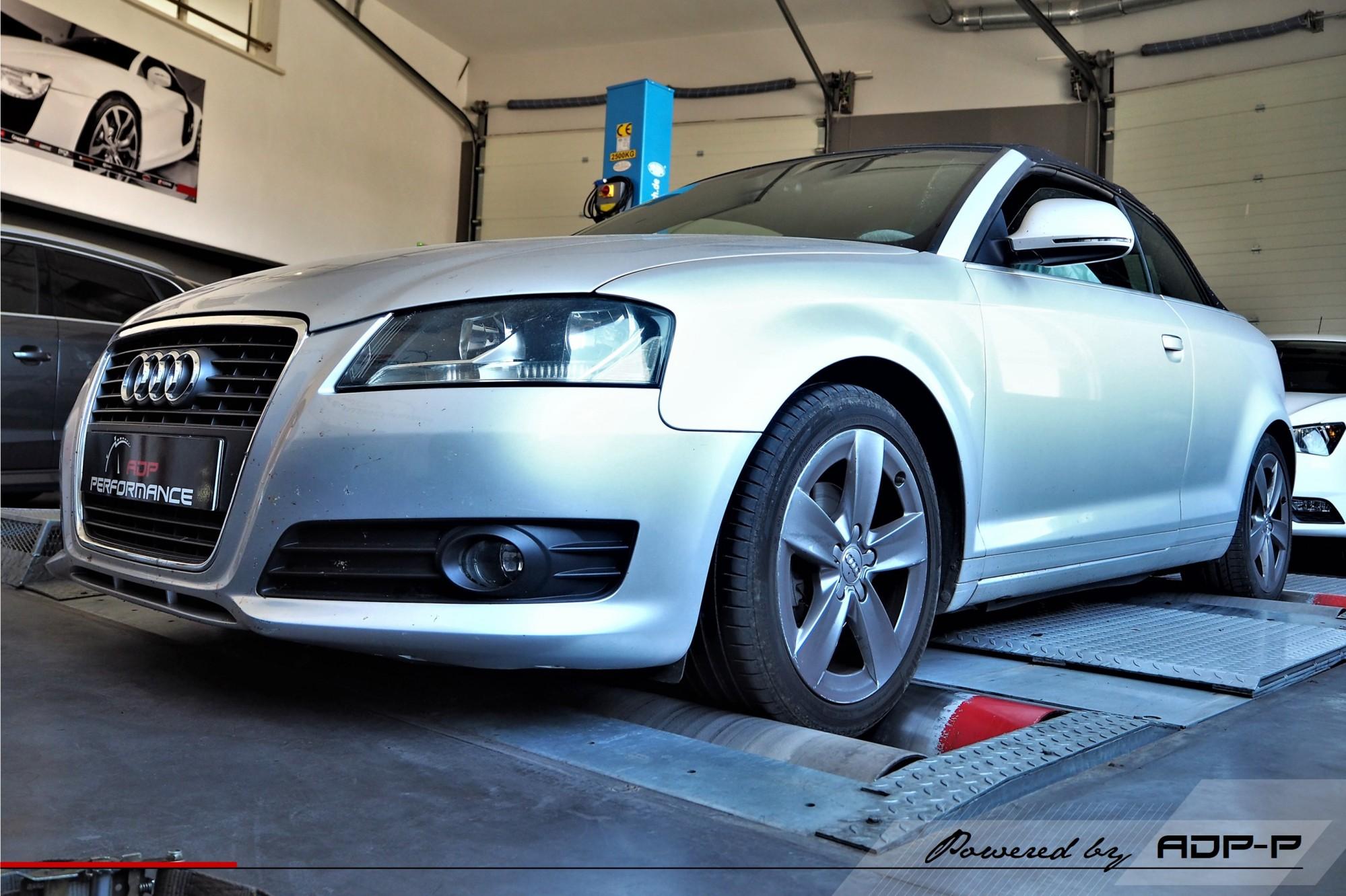 Reprogrammation moteur Aix en Provence, Aubagne, Marseille - Audi A3 8P Mk2 1.8 TFSI 160cv - ADP Performance