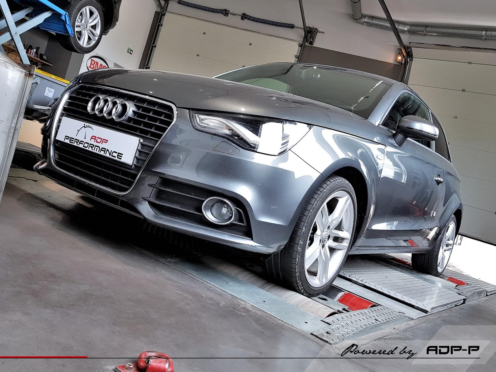 Reprogrammation moteur - Audi A1 1.4 TFSI - 122cv - ADP Performance