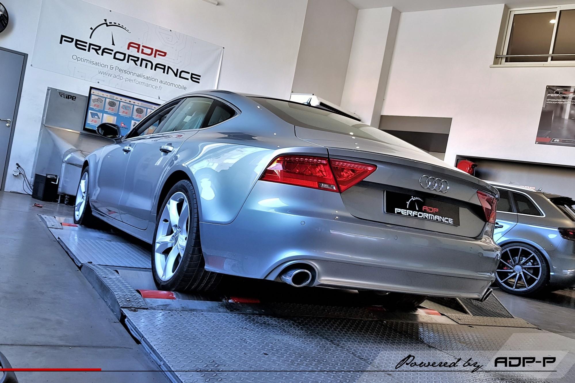 Reprogrammation moteur - Audi A7 3.0 V6 TDI 218cv - ADP Performance