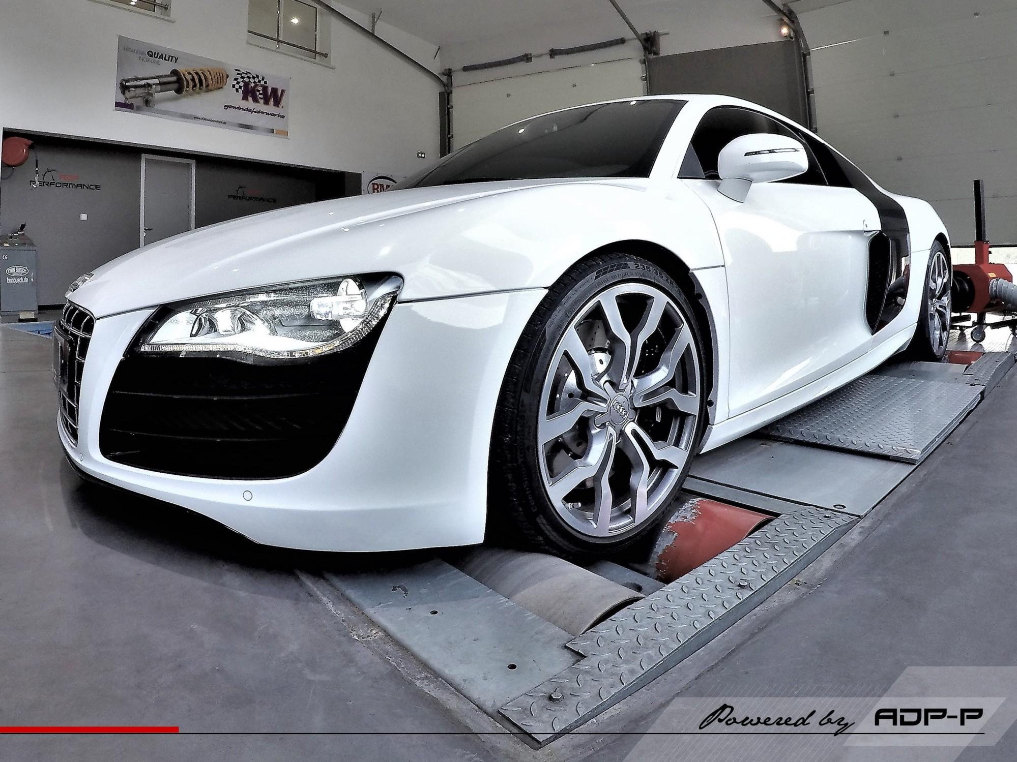 Reprogrammation moteur - Audi R8 5.2 V10 Plus 550cv - ADP Performance