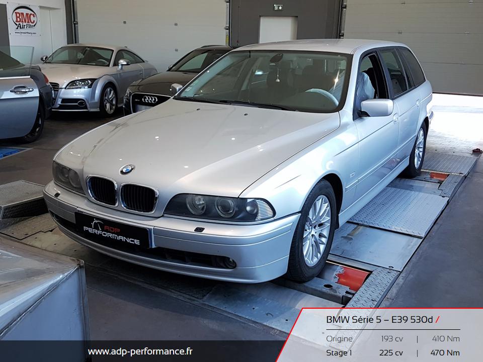 Reprogrammation moteur lan de campagne, Aubagne, Bouc Bel Air - BMW E39 530d ADP Performance