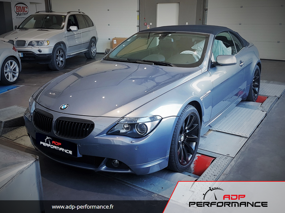 Reprogrammation moteur BMW E63 630i 265 ADP Performance