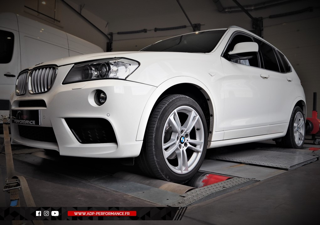 Reprogrammation moteur - BMW X3 (F25) xDrive 30d 258cv - ADP Performance
