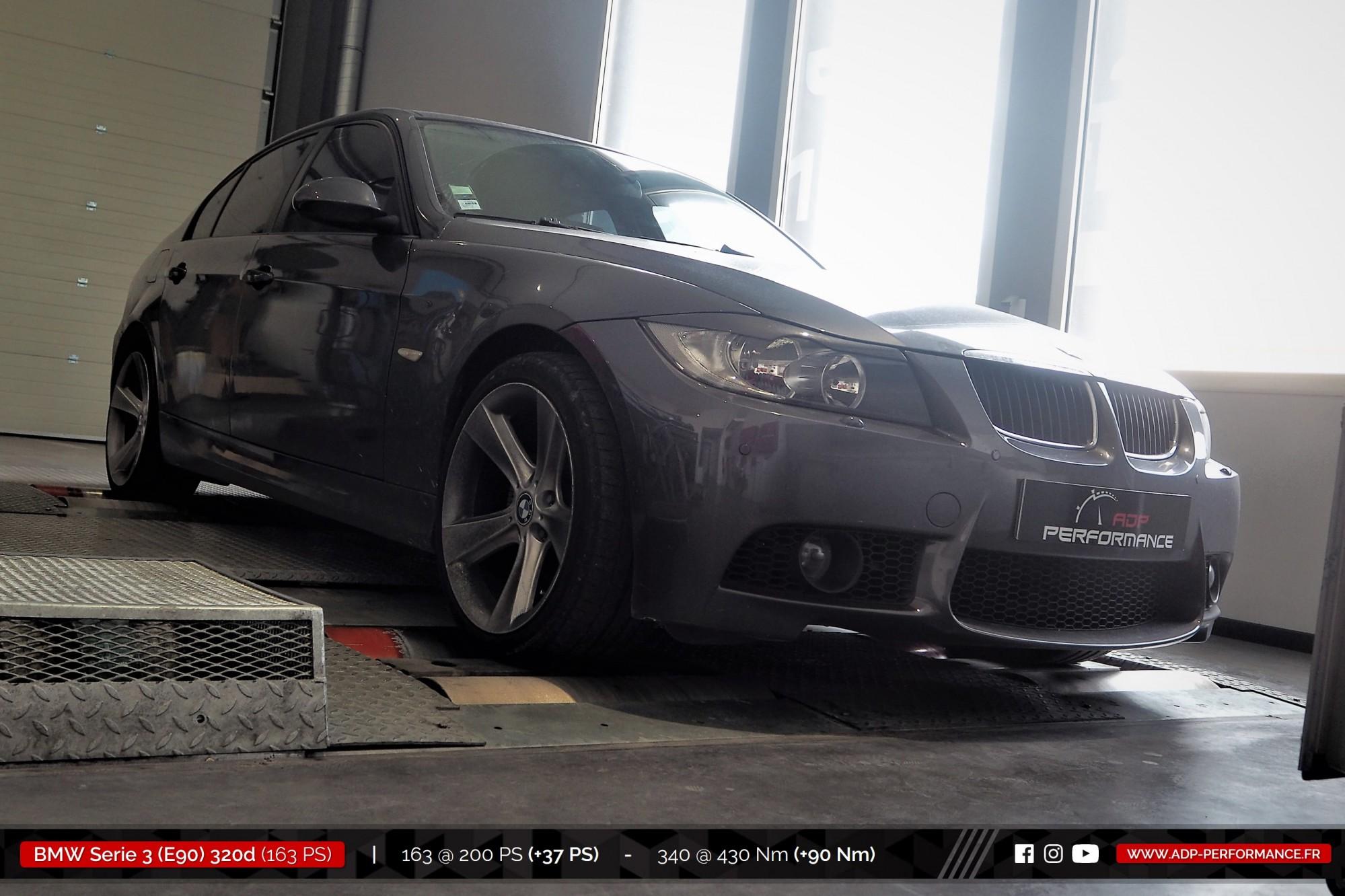 Reprogrammation moteur Miramas, Istres, Martigues - BMW Serie 3 E90 320d 163cv - ADP Performance