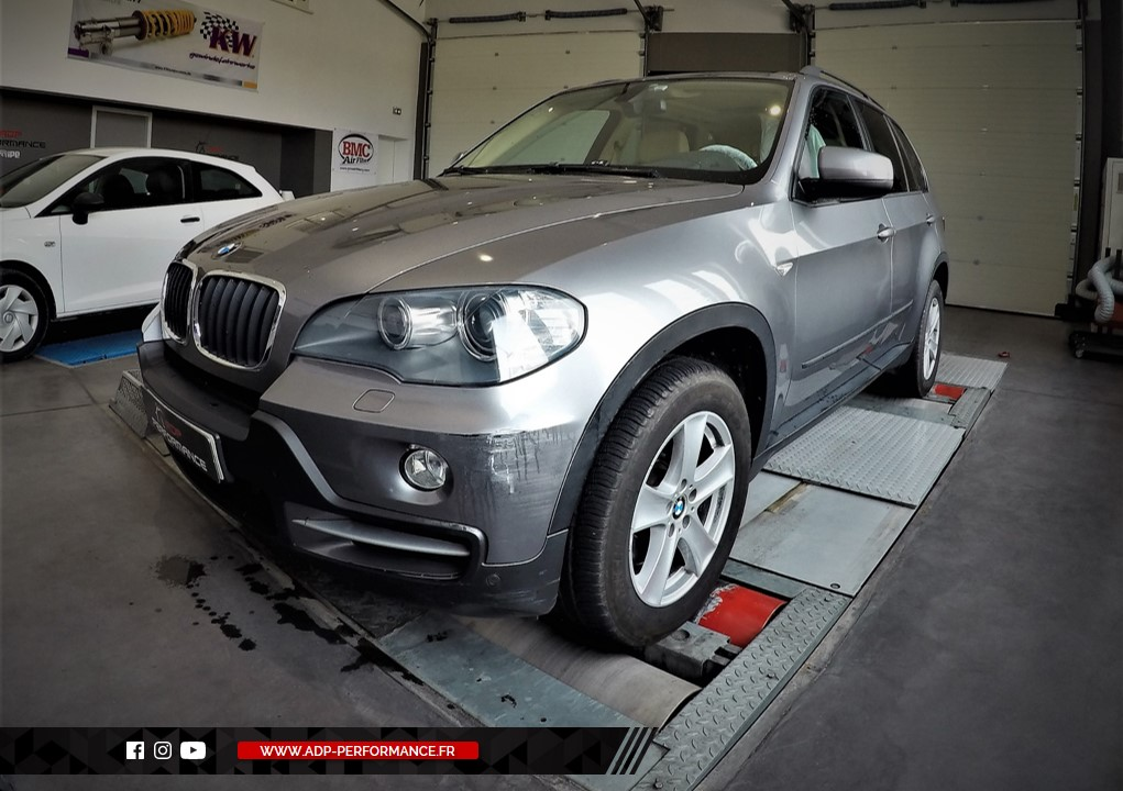 Reprogrammation moteur - BMW X5 (E70) 4.4 Twin Turbo 407cv - ADP Performance