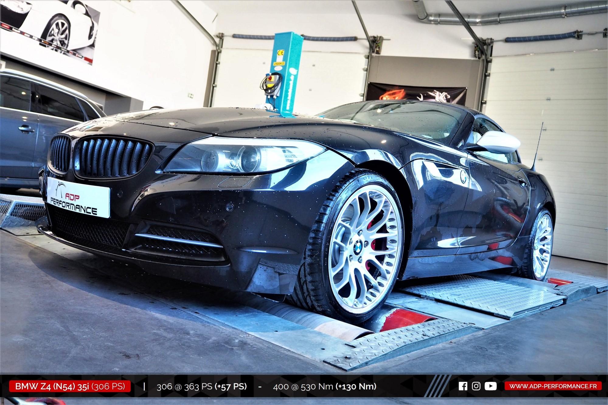 Reprogrammation moteur Nimes, Montpellier, Arles - BMW Z4 (N54) 35i 306cv - ADP Performance