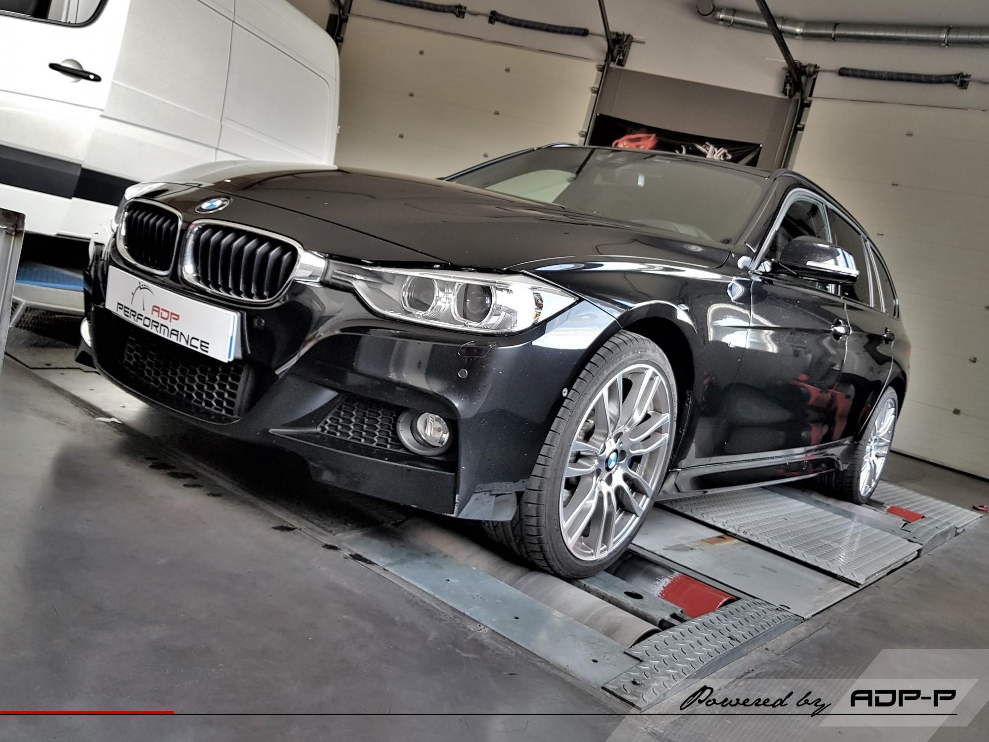 Reprogrammation moteur - BMW Serie 3 (F3x LCI) 330d 258cv - ADP Performance
