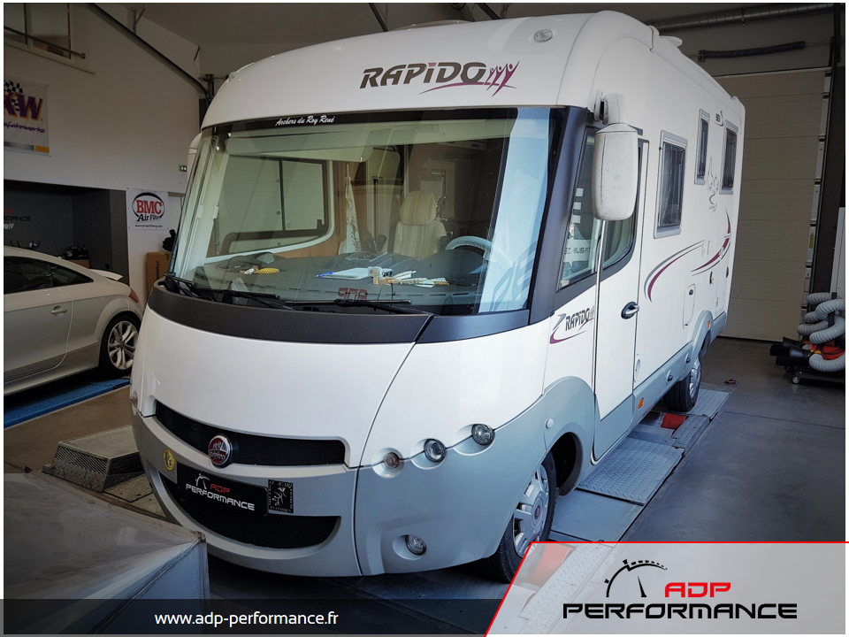 Reprogrammation moteur Fiat Ducato 160 Multijet ADP Performance