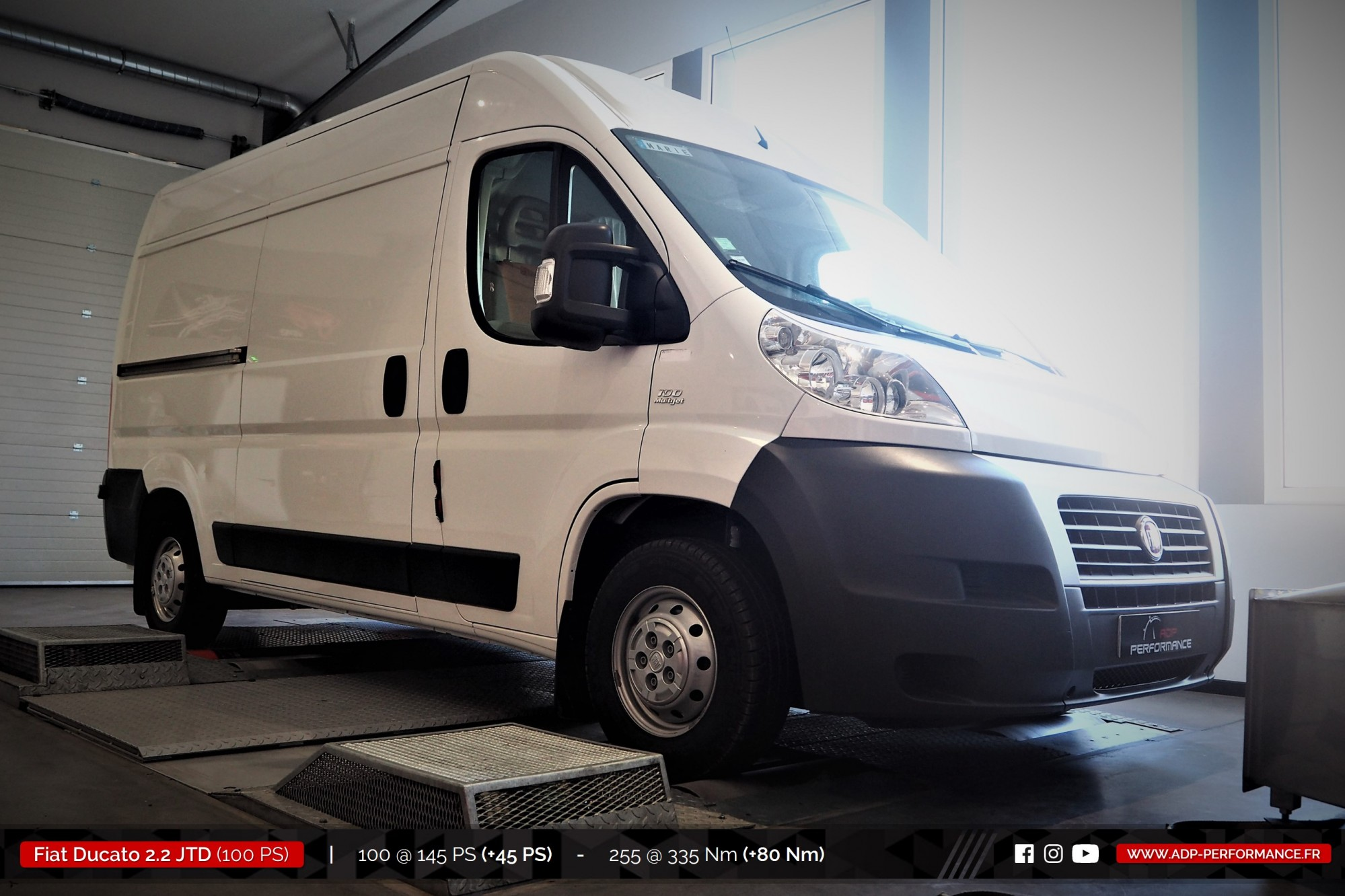 fiat ducato sept 2011 diesel 2 2 jtd 100 cv reprogrammation de votre vehicule. Black Bedroom Furniture Sets. Home Design Ideas