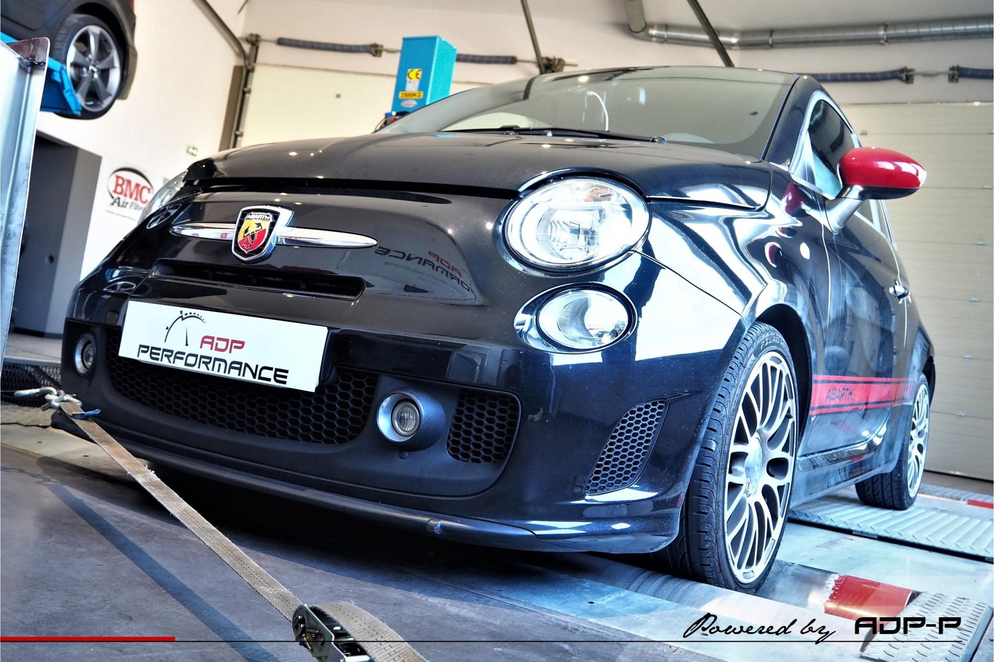Reprogrammation moteur Miramas, Martigues, Istres - Fiat 500 Abarth 1.4 Tjet 135cv - ADP Performance