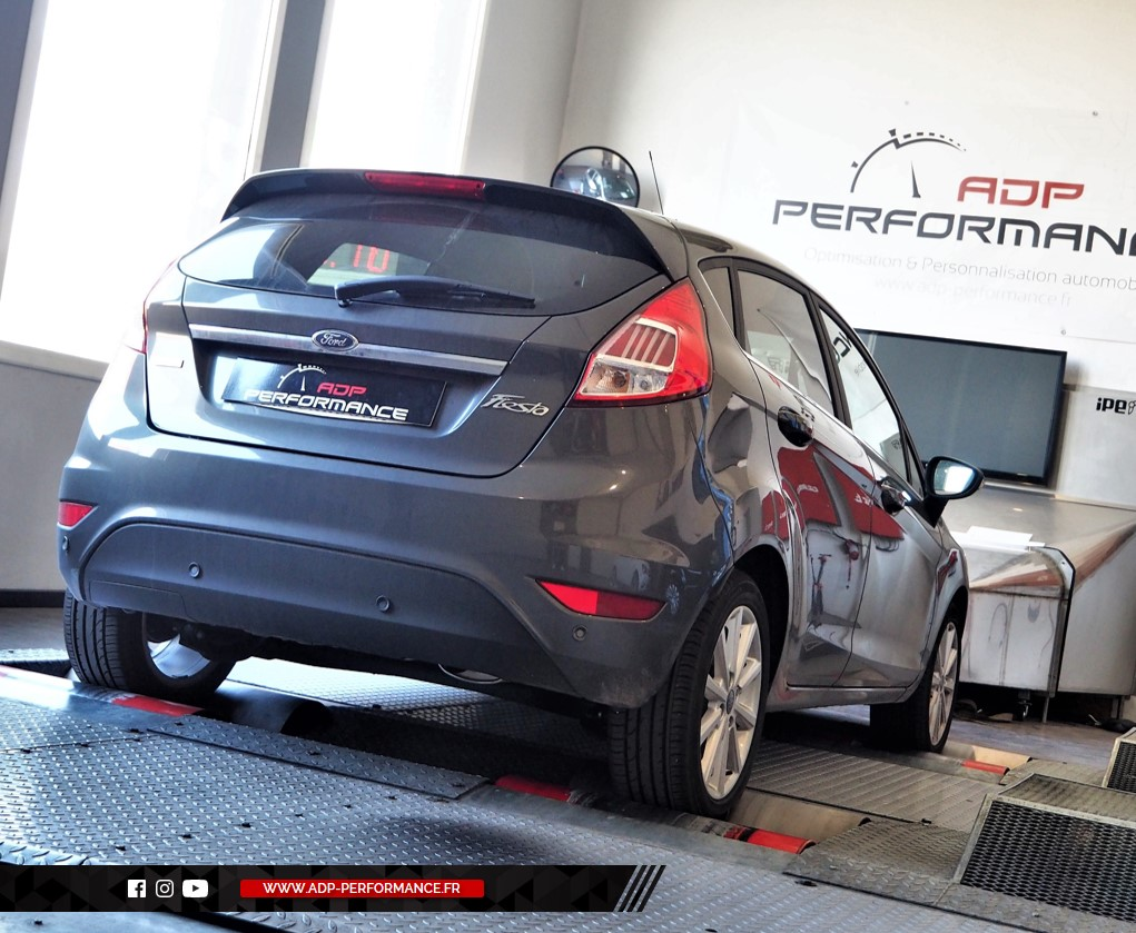 Reprogrammation moteur - Ford Fiesta 1.0T Ecoboost 125cv - ADP Performance