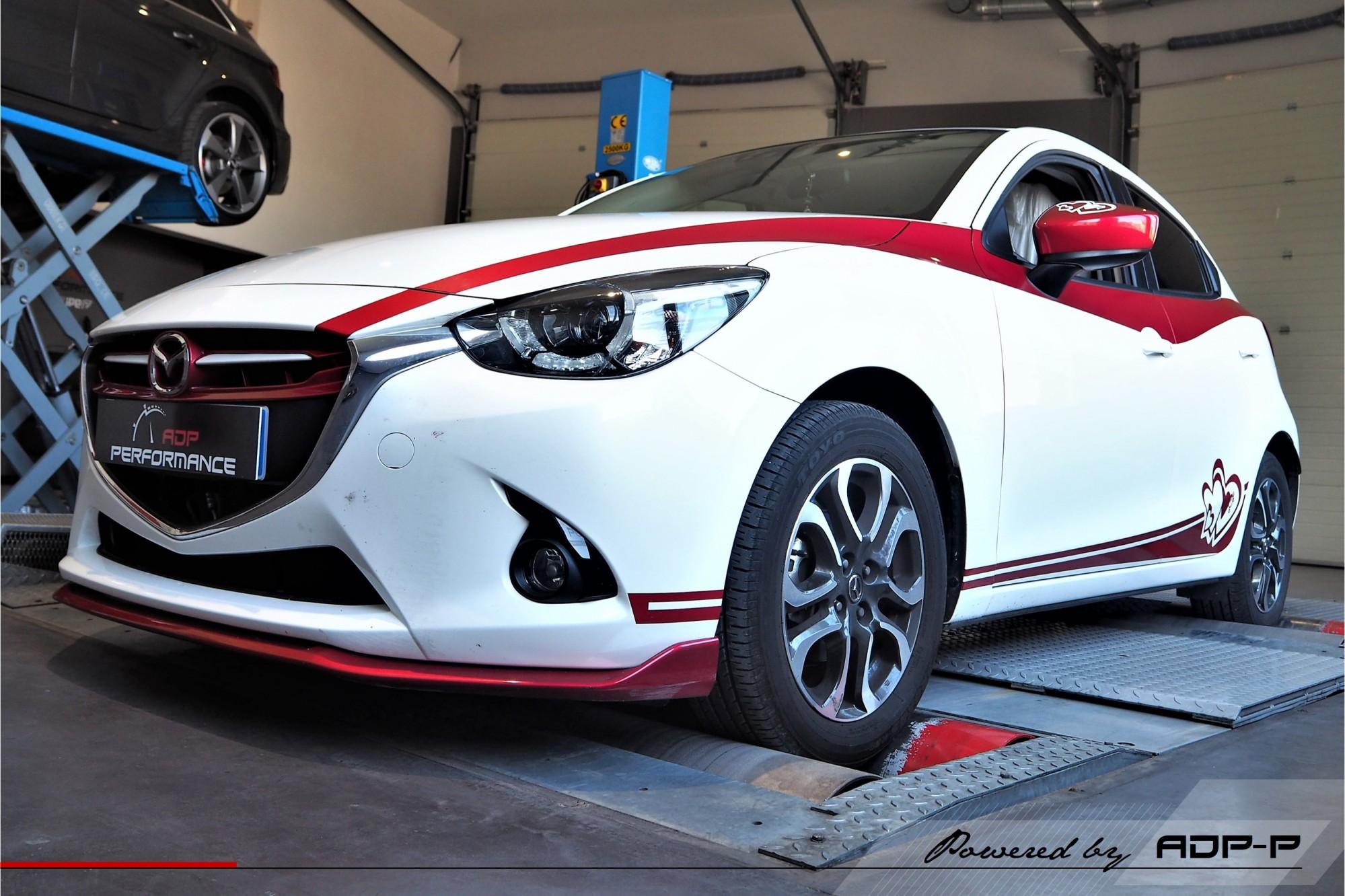 Reprogrammation moteur - Mazda 2 1.6 MZ-CD 95cv - ADP Performance