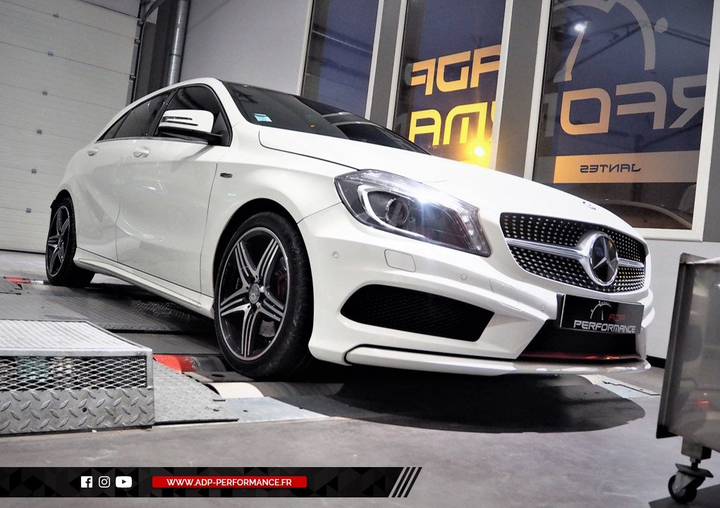 Reprogrammation moteur - Mercedes Classe A220 CDI 170 cv ADP Performance