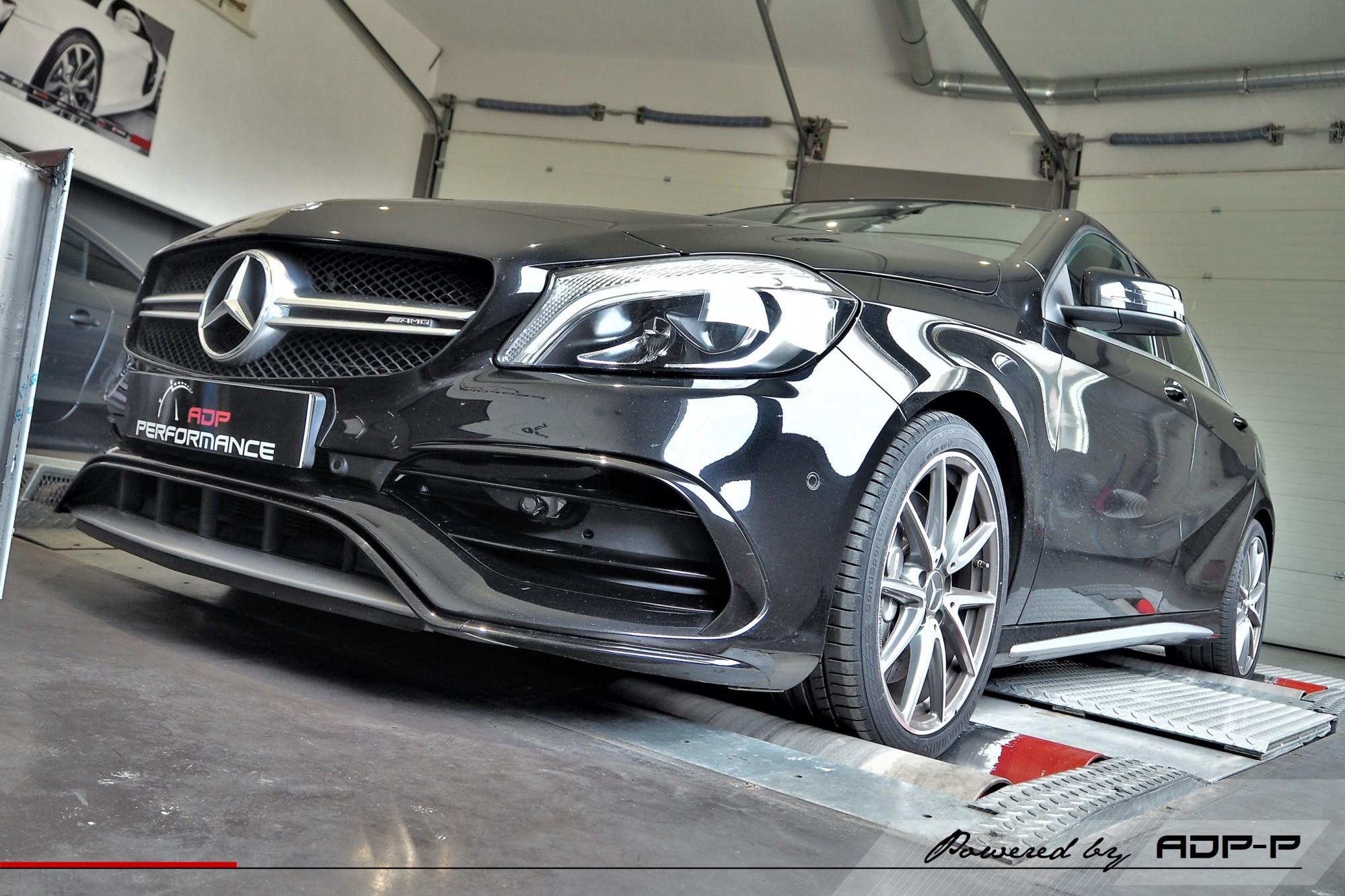 Reprogrammation moteur Marseille, Aubagne, La Ciotat - Mercedes A 45 AMG 381cv - ADP Performance