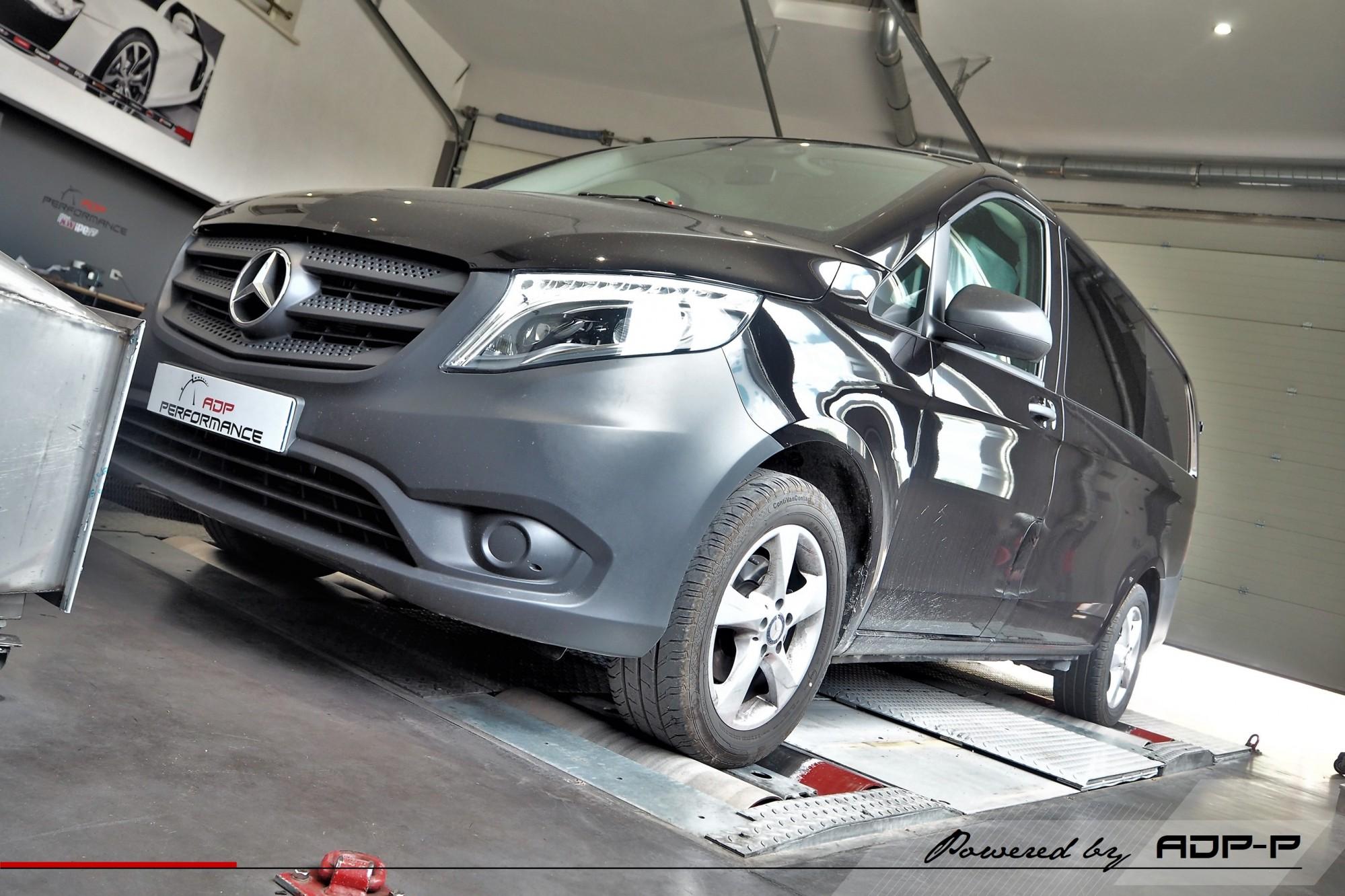 Reprogrammation moteur Aix en Provence, Avignon, Arles - Mercedes Vito 114 CDI (Euro 6) 136cv - ADP Performance