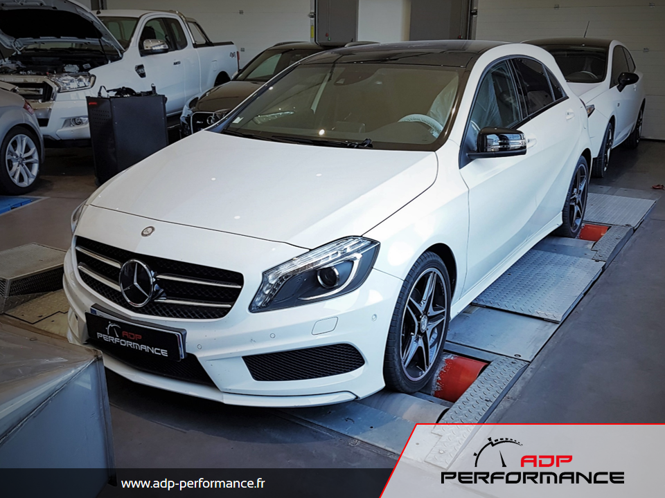 Reprogrammation moteur - Mercedes Classe A 160 CDI 90cv - ADP Performance