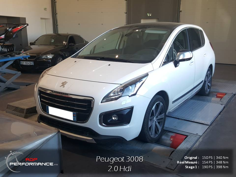 peugeot 3008 2014 2016 diesel 2 0 hdi 150 cv reprogrammation de votre vehicule. Black Bedroom Furniture Sets. Home Design Ideas