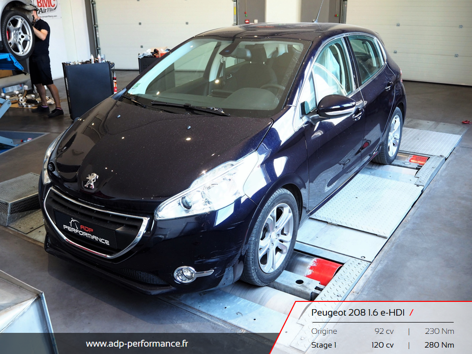peugeot 208 2012 2015 diesel 1 6 e hdi 92 cv reprogrammation de votre vehicule. Black Bedroom Furniture Sets. Home Design Ideas