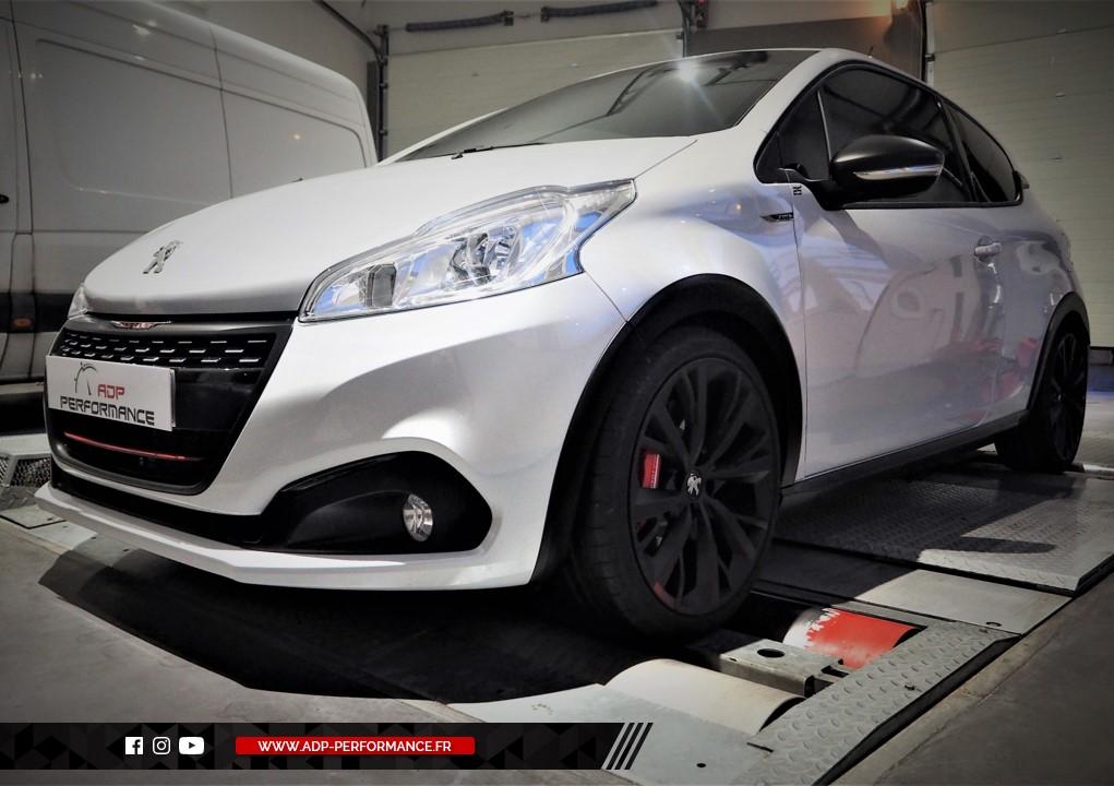 Reprogrammation moteur - Peugeot 208 1.6 BlueHDi 100cv - ADP Performance