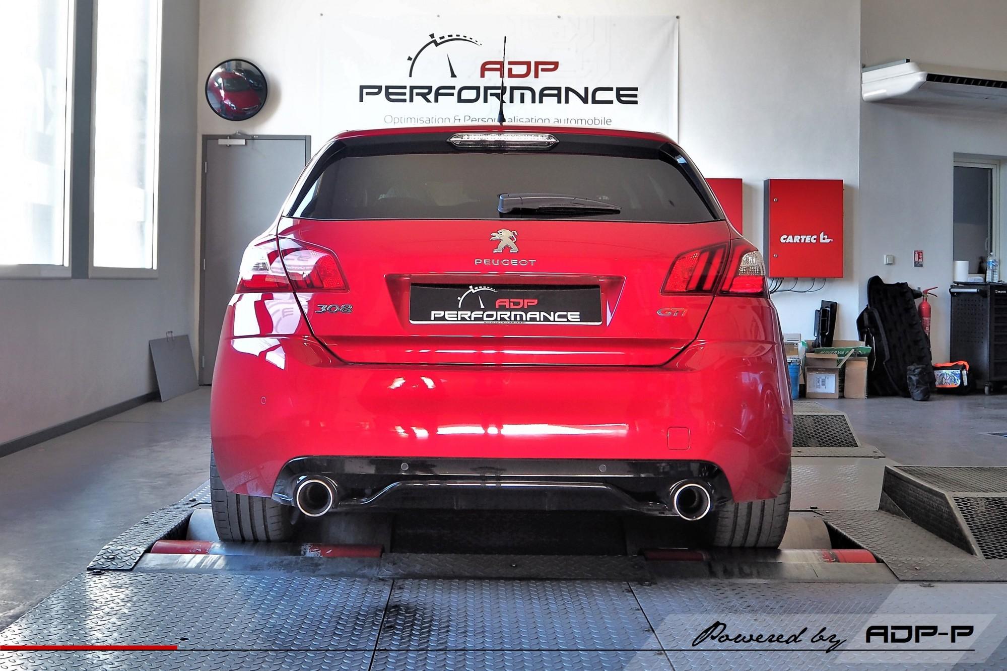 Reprogrammation moteur Aix en Provence, Marseille, Avignon - Peugeot 308 GTI 1.6 THP 270cv - ADP Performance
